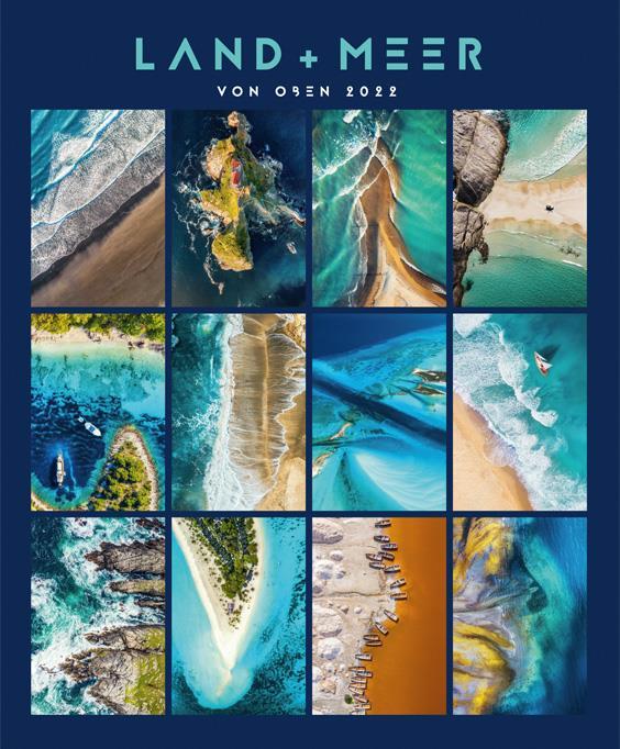 Land und Meer von oben 2022 (Kalender)