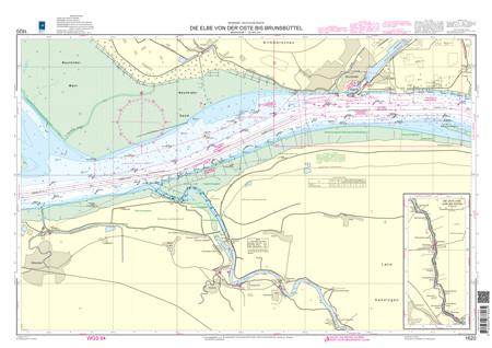 BSH 1620 Die Elbe von der Oste bis Brunsbüttel