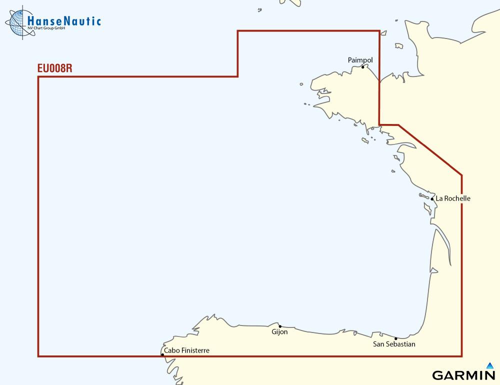 BlueChart g3 Vision Chip Regular VEU008R-Bay of Biscay