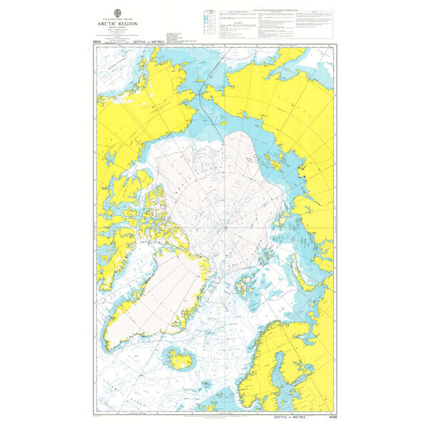 A Planning Chart for the Arctic Region. UKHO4006