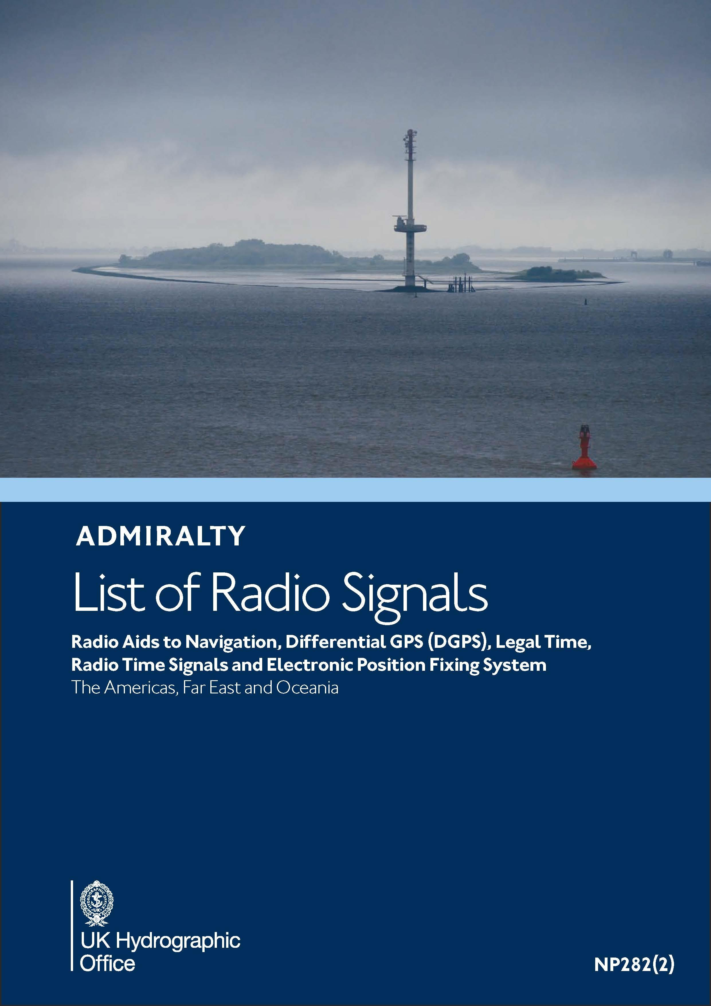 ADMIRALTY NP282(2) RadioSignals Position Fixing Systems & Time Signals - APAC