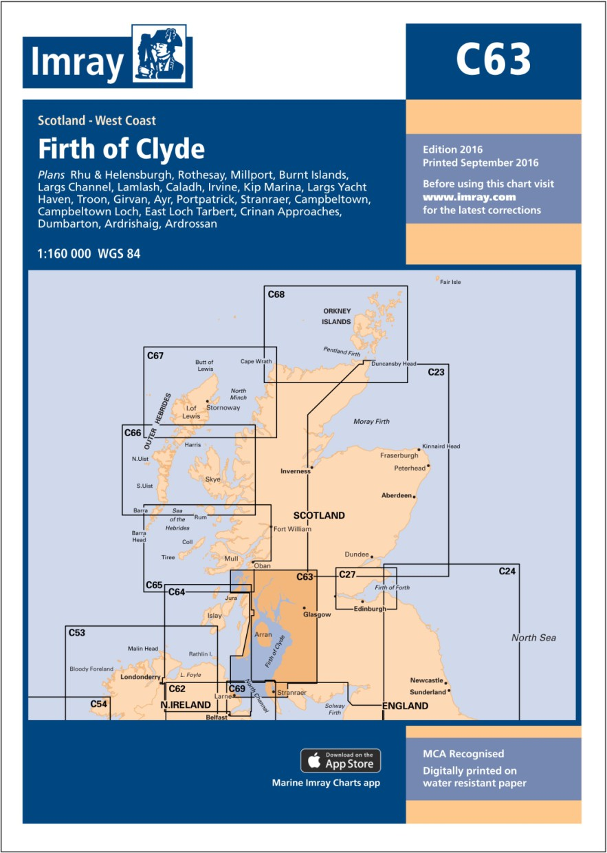 IMRAY CHART C63 Firth of Clyde
