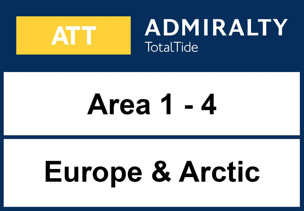 ADMIRALTY TotalTide - Area 1-4 Europe