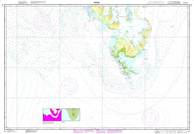 N 527 Spitzbergen mit Sørkapp
