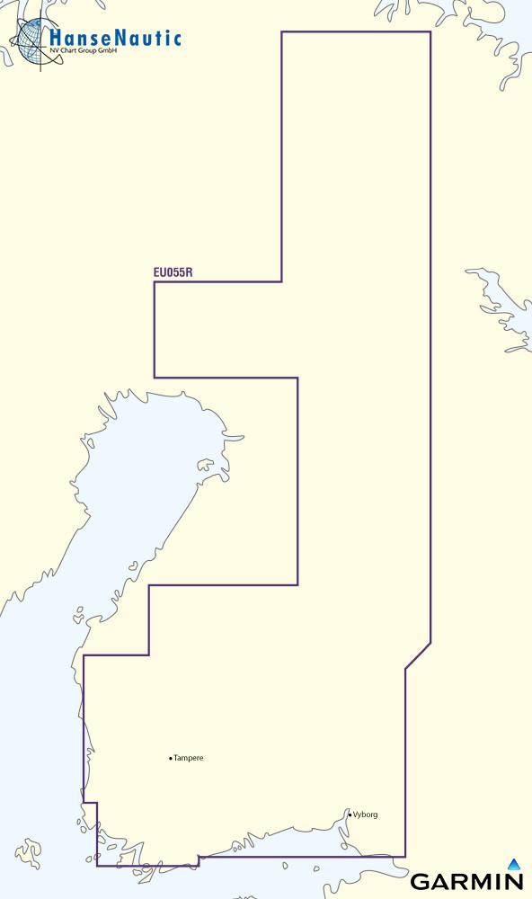 BlueChart g3 Vision Chip Regular VEU055R-Finnish Lakes