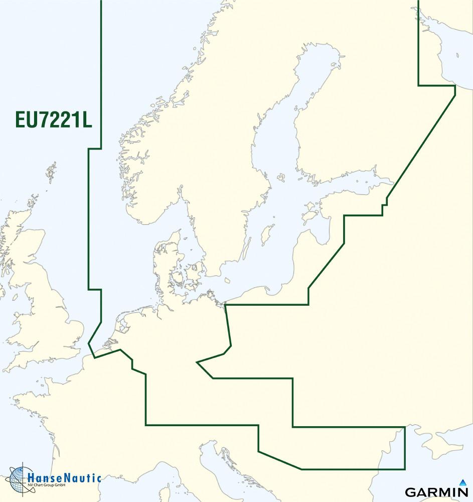 BlueChart g3 Vision Chip Large VEU721L Northern Europe