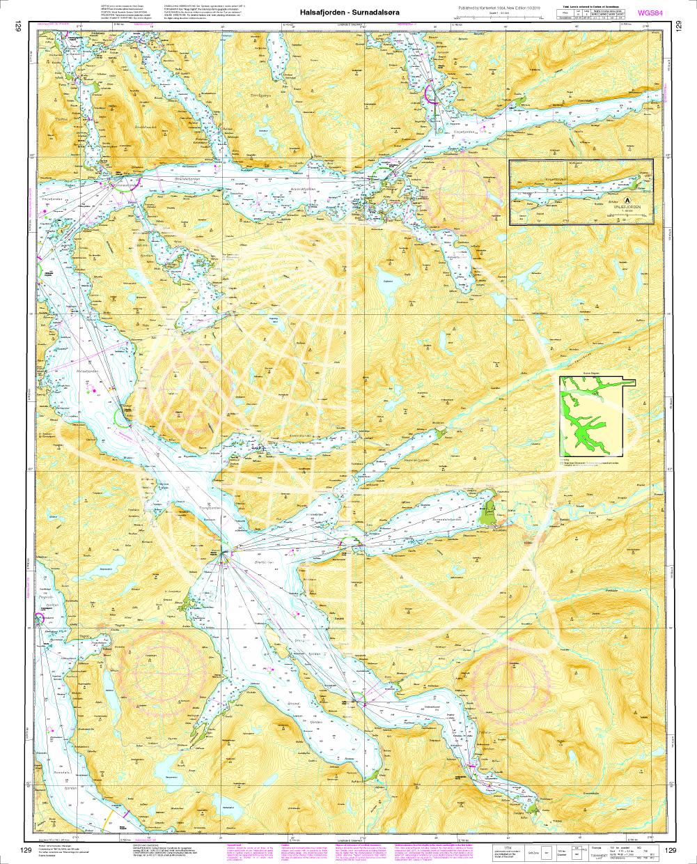 Norwegen N 129 Atlantik vom Halsafjord bis Surnadalsøra