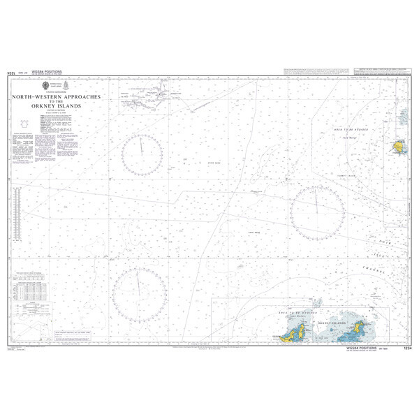 North - Western Approaches to the Orkney Islands. UKHO1234