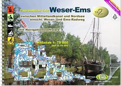 TourenAtlas TA2: Weser-Ems