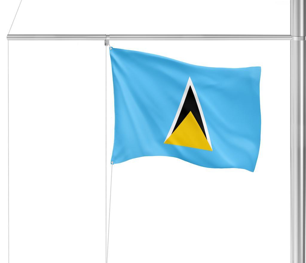 Flagge St. Lucia