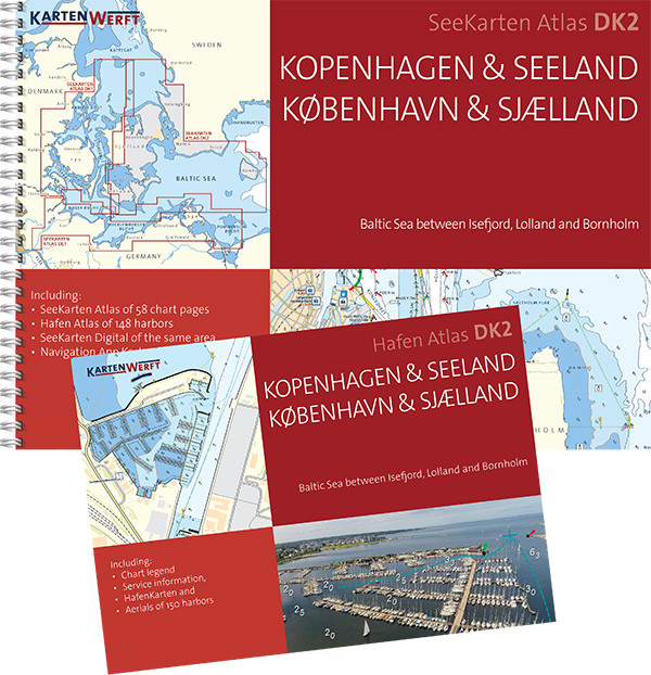 SeeKarten Atlas DK2 | Kopenhagen & Seeland