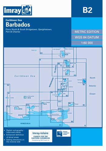 IMRAY CHART B2 Barbados