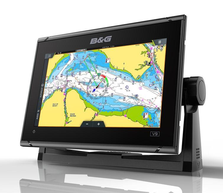 B&G Vulcan 9 FS Multifunktionsdisplay und Kartenplotter