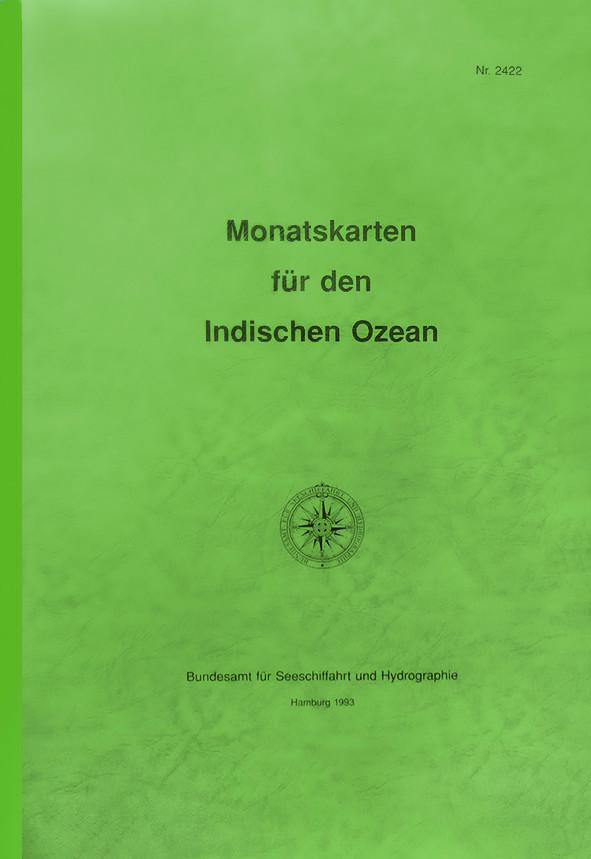 Monatskarten Indischer Ozean