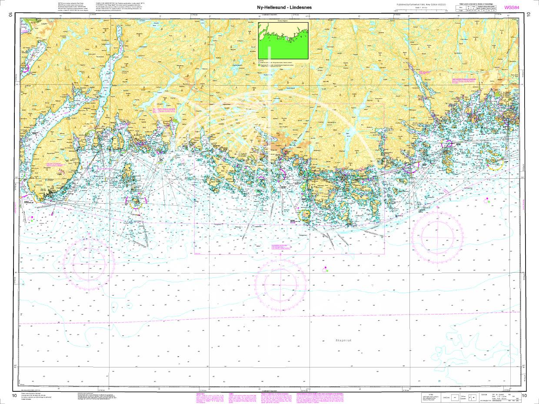 Norwegen N 10 Südnorwegen Ny-Hellesund bis Lindesnes