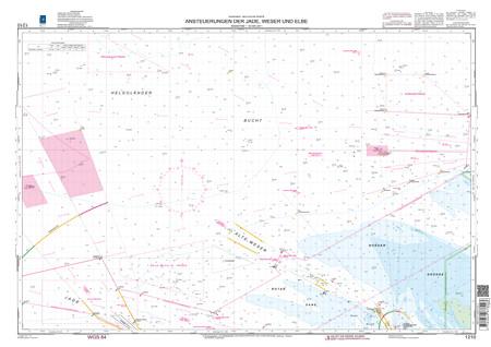 BSH 1210 Ansteuerungen der Jade, Weser und Elbe