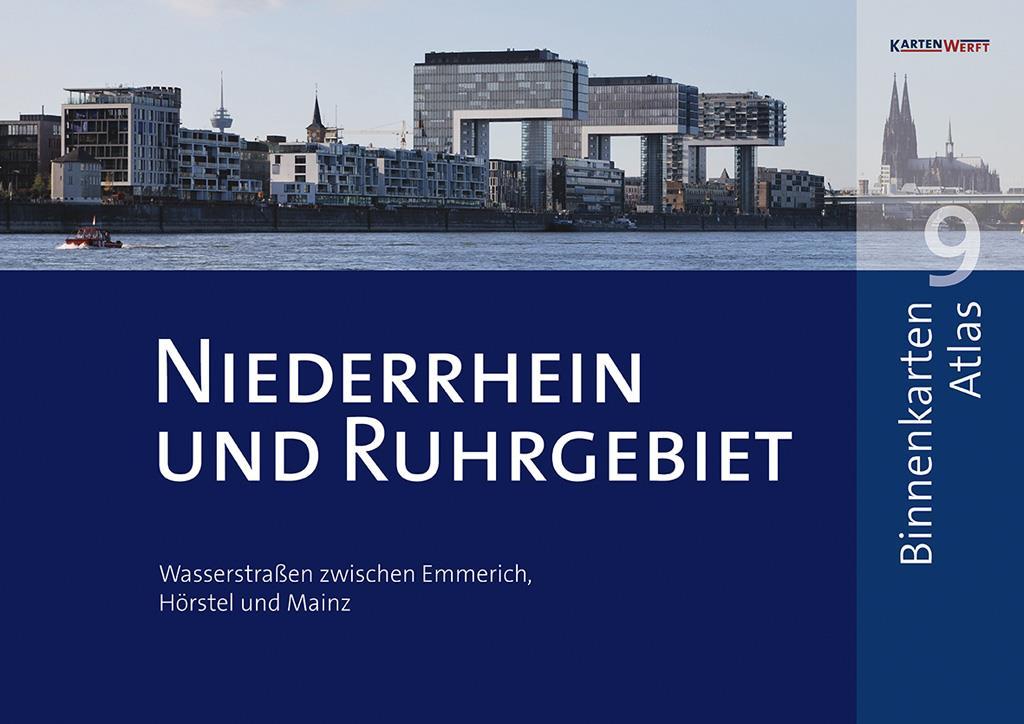Binnenkarten Atlas 9 - Niederrhein und Ruhrgebiet