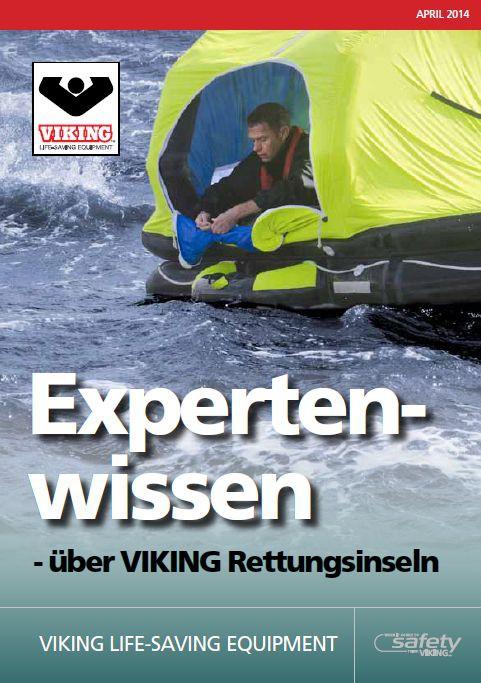 Viking Expertenwissen Rettungsinseln.(kostenlos) Broschüre