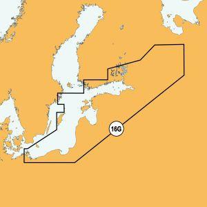 Navionics 16P+ SD Südliche Ostsee (Baltikum)