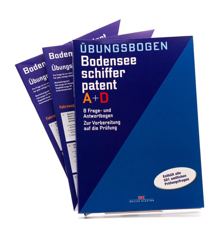 Übungsbogen - Das Bodenseeschifferpatent A + D