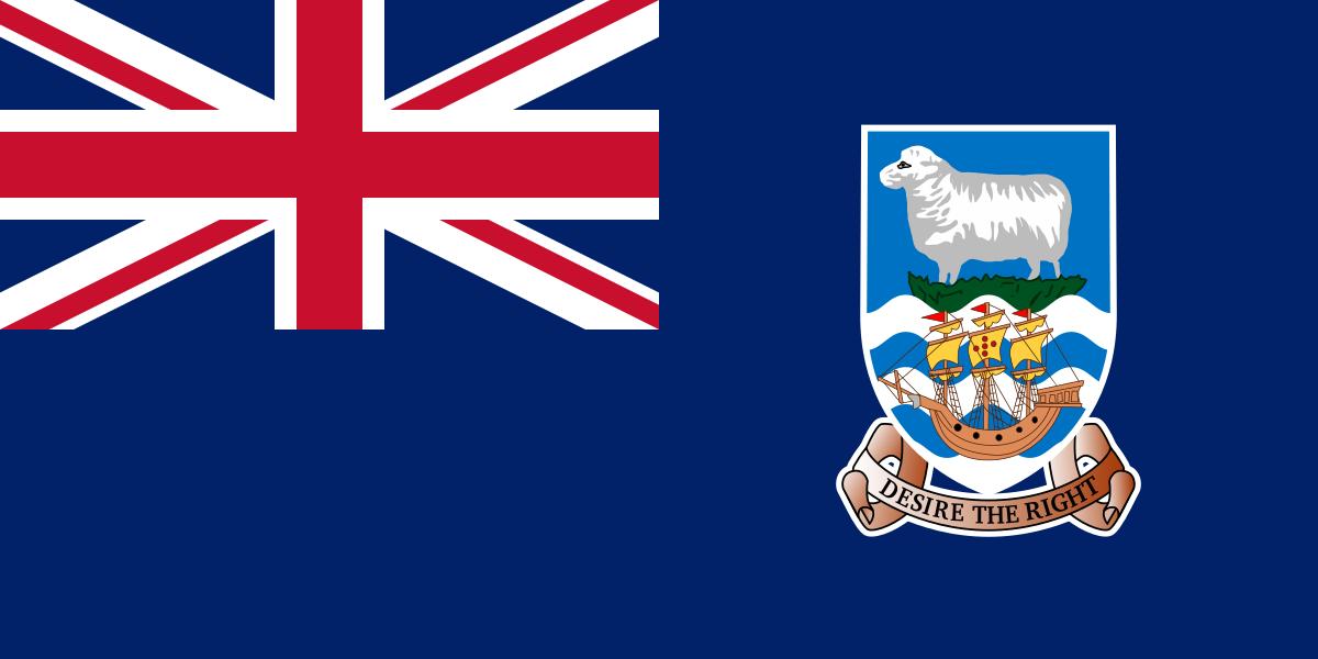 Flagge Falkland Inseln
