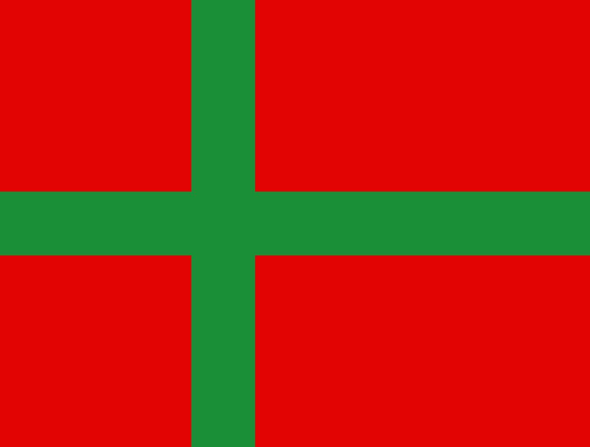 Flagge Bornholm