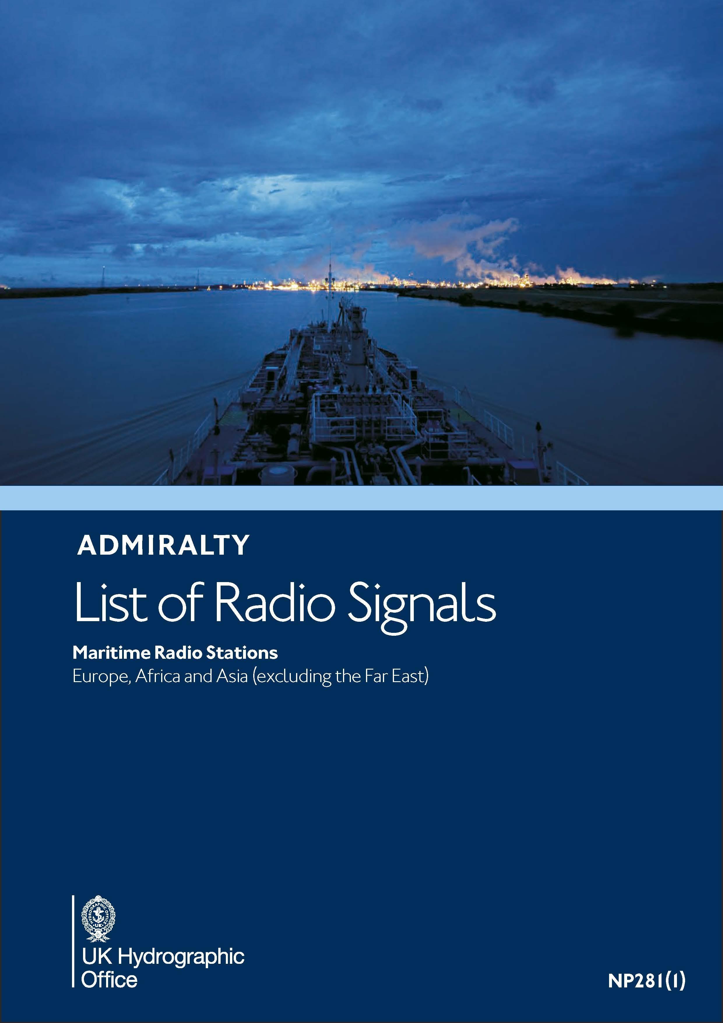 ADMIRALTY NP281(1) RadioSignals - Maritime Radio Stations - EMEA