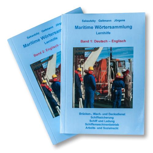 Maritime Wörtersammlung Lernhilfe. 2 Bände