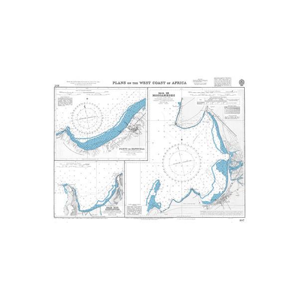 Plans on the West Coast of Africa. UKHO1197