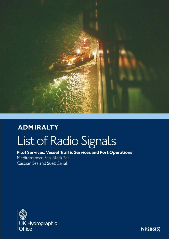 ADMIRALTY NP286(3) RadioSignals Pilot, VTS & Port Ops - Mediterranean