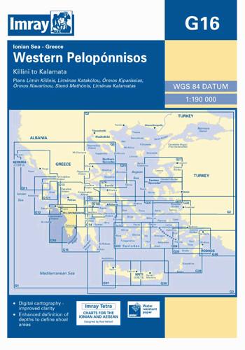 IMRAY CHART G16 Western Pelopónnisos