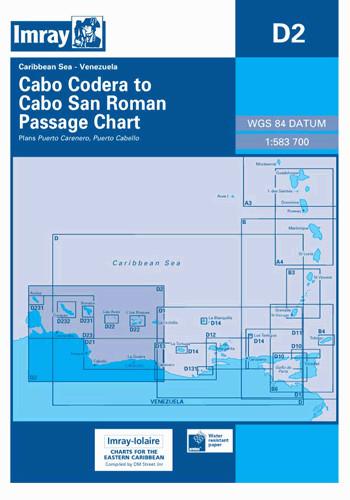 IMRAY CHART D2 Cabo Codera to Cabo San Roman