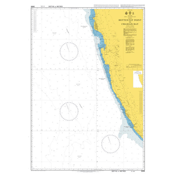 Hottentot Point to Chamais Bay. UKHO3869