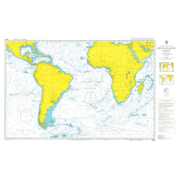 A Planning Chart for the South Atlantic Ocean. UKHO4003