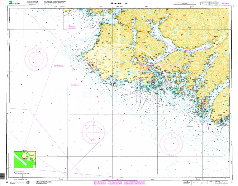 Norwegen N 11 Südnorwegen von Lindesnes nach Lista