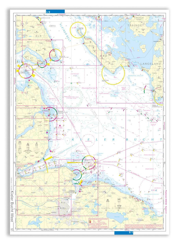 NV Seekarte Kieler Bucht S1/S1A