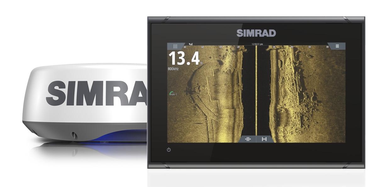 Simrad GO9 XSE Kartenplotter, Active-Imaging & HALO20+ Radar (Bundle)