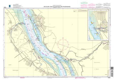 BSH 1640 Die Elbe von Glückstadt bis Pagensand