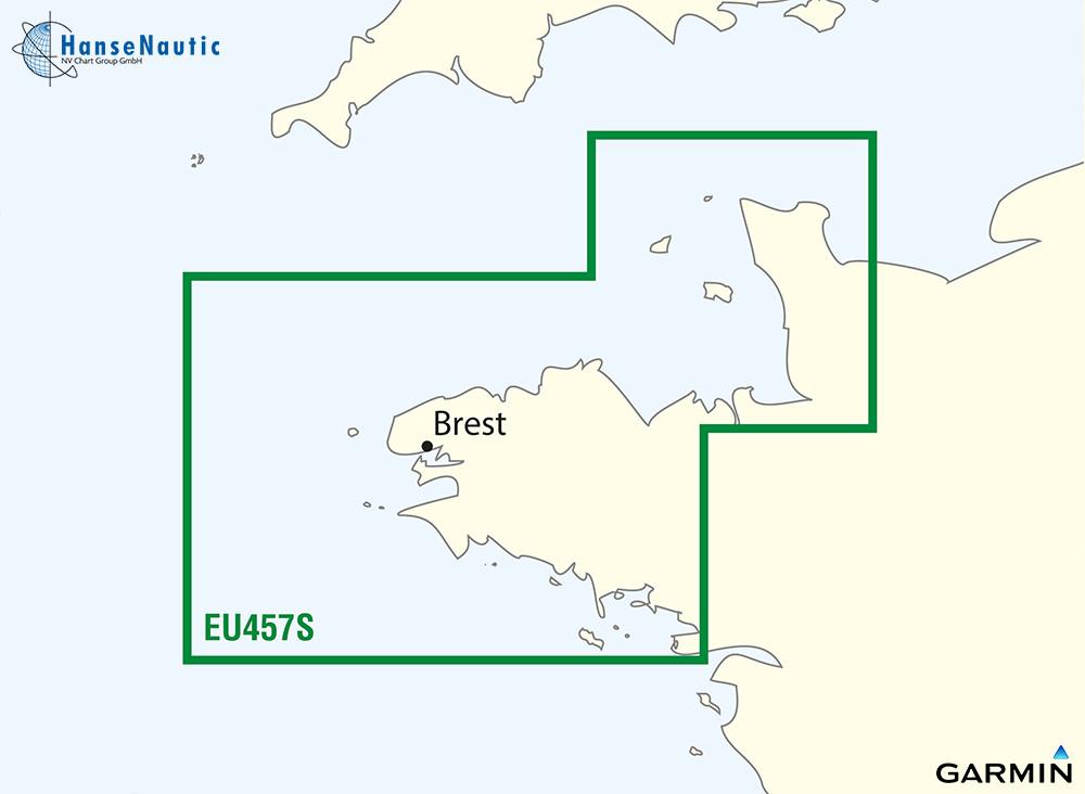 BlueChart Atlantik Bretagne (Frankreich) g3 Vision VEU457S