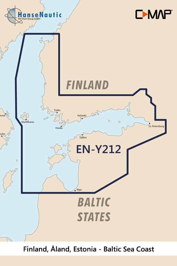 C-MAP Discover Finnland, Åland, Estland EN-Y212