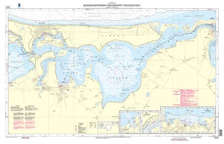 BSH 1623 Boddengewässer von Barhöft bis Bodstedt