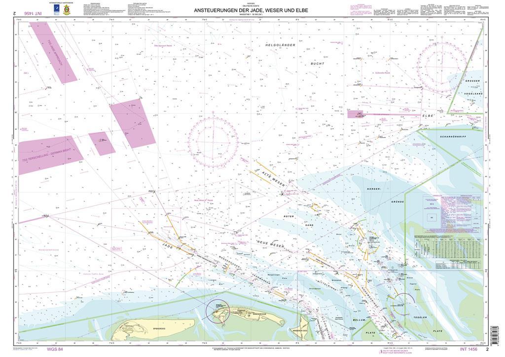 DE2 Ansteuerung der Jade, Weser und Elbe