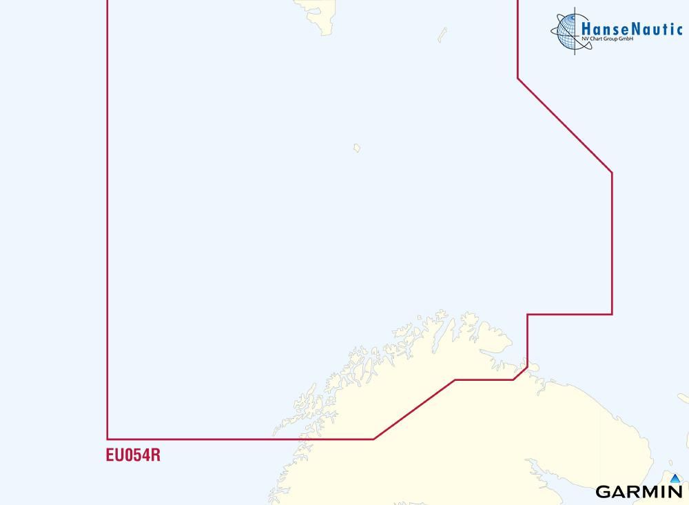 BlueChart g3 Vision Chip Regular VEU054R-Vestfjd-Svalbard- Varanger