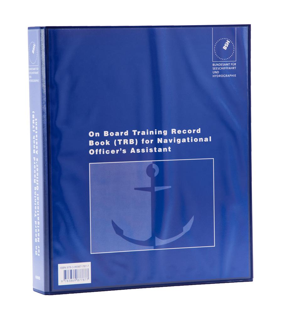 On Board Training Record Book for Navigational Officer's Assistant
