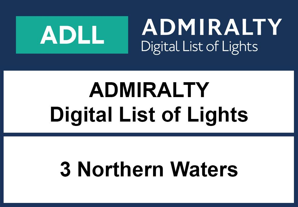 ADMIRALTY DigitalLightsList - Area 3 Northern Waters