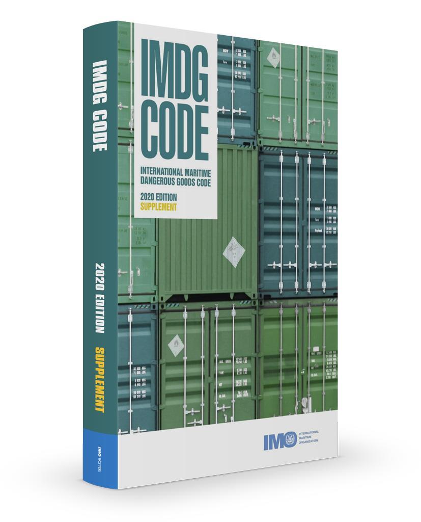 IMO IMDG Code Supplement 2020 edition (IK210E)