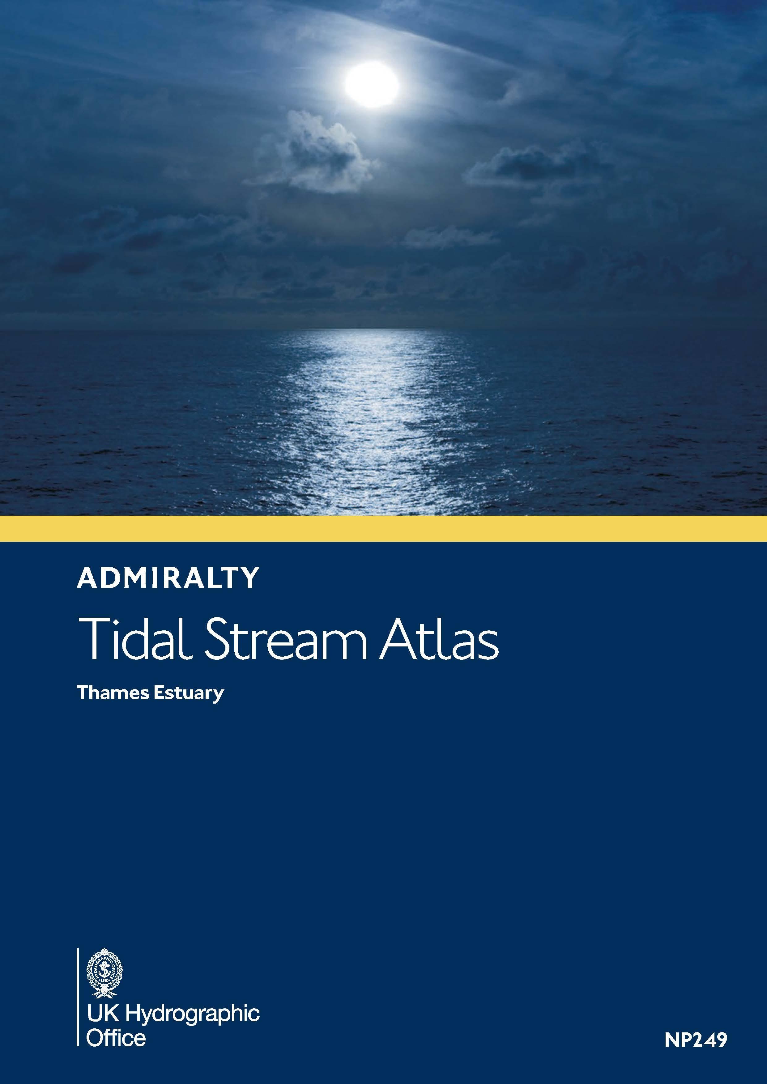 Gezeitenstromatlas NP249 Thames Estuary (with co-tidal charts)