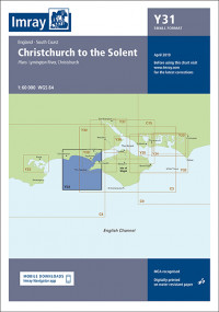 IMRAY CHART Y 31 Christchurch to the Solent