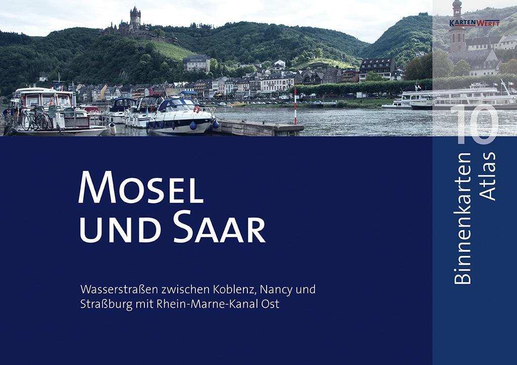 Binnenkarten Atlas 10 - Mosel und Saar