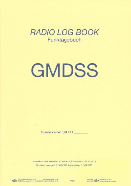Funktagebuch - Radio Log Book GMDSS